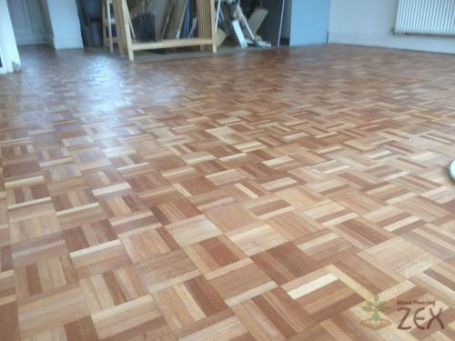 Refurbished very nice parquet